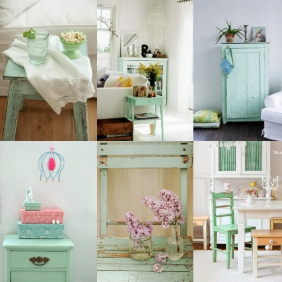 Collage mint