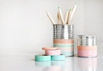 latas decoradas washi