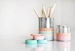 latas decoradas washi